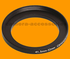 41.5mm to 52mm 41.5-52 Stepping Step Up Filter Ring Adapter 41.5mm-52mm (UK)