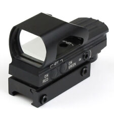 Hunting 4Reticle Holographic Red/Green Dot Scope w/  Picatinny/Weaver Rail Mount