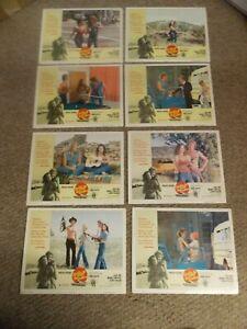 BOBBIE JO AND THE OUTLAW(1976)LYNDA CARTER ORIGINAL SET OF 8 LOBBY CARDS 11BY14