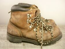 Vintage Irish Setter Red Wing Hiking Mountaineering Stomper Boots Men's Size 7