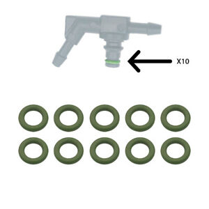 Joint vert pour connecteur de retour injecteur x10 - Durer