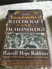 The Encyclopedia of Witchcraft and Demonology by Rossell Robbins 1959 HC /DJ 1st