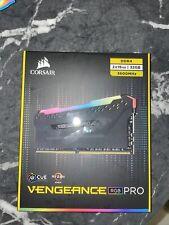 More details for corsair vengeance rgb pro black 32gb (16gb x 2) 3600mhz ddr4 memory kit