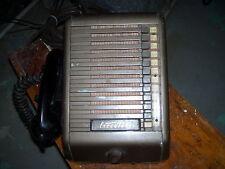 Vintage  Executone metal switchboard prop vacuum Tube Phone