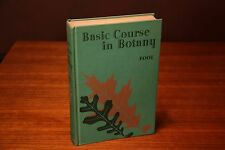 Basic Course in Botany 1940 Ginn and Company Pool Vintage College Textbook