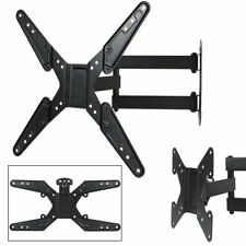 Swivel TV Corner Wall Mount Bracket Swing Arm For LCD LED 30 32 40 47 50 55 inch