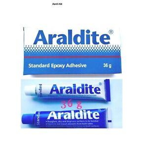 36g x Araldite Standard Epoxy adhesives Glue 2 Part Resin & Hardener Cheapest
