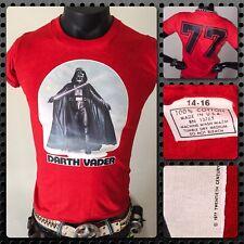 THIN vTg 77 NOS Star Wars DARTH VADER orig Han Solo Chewbacca story T-Shirt S M