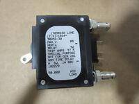 Airpax LELK1-1RS4-30452-30 Bullet Breaker 1P 30A 80VDC Max NEW!!!