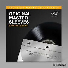 MOBILE FIDELITY SOUND LAB INNER SLEEVES - MOFI MFSL (50 RECORD SLEEVES) - NEW