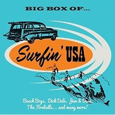 Various Artists - Big Box Of Surfin USA / Various [New CD] UK - Import