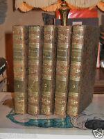 Abrégé de l'histoire romaine 1827 Abbé Tailhé 5 volumes Plein Cuir