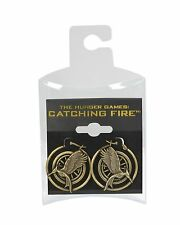 NECA The Hunger Games: Catching Fire Mockingjay Hoop Earrings