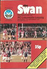 EC Swansea City-  Lokomotive Leipzig  1981/82