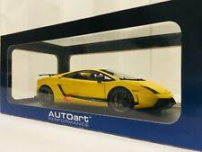 AUTOart 1/18 Lamborghini Gallardo LP570-4 Superleggera (Metallic Yellow) 74658