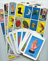 Loteria Don Clemente 20 Playing Boards 54 cards Mexico Bingo Game Party