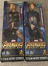 New!Marvel Legends Avengers: Infinity War THOR & Captain America ?12? Figure
