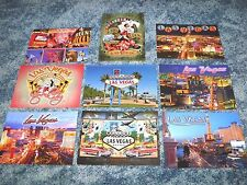 Ultimate Lot of 9 Postcards of Las Vegas Nevada The Strip Casino Hotels Sign etc