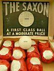 Antique vintage Wrapped Saxon Golf ball Mesh Guttie? Rubber?