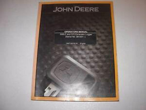 John Deere 330LC Excavator , 370 Logger Operator's Manual , s/n 081001-up