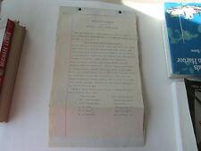1899 VERMONT, FITZGERALD LAND & LUMBER COMPANY, ARTICLES ASSOCIATION, TRUE COPY