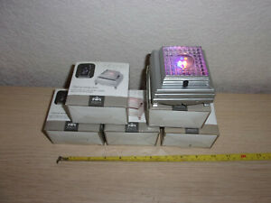 6 Home small light up display stands