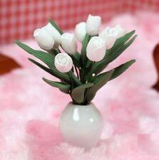 1:12 Scale Tulips Flower Flora Dollhouse Miniature Re-ment Fairy Home Scene ^