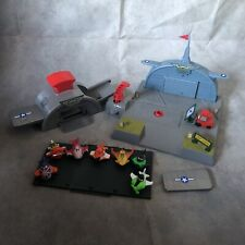Disney Planes Micro Drifters Playset Bundle Skippers Flight School With 7 Planes