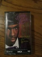 Bobby Brown Dance Ya Know It Cassette 1989 Hip Hop Free Shipping