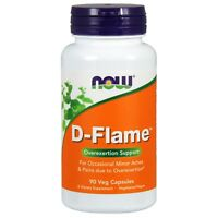 NOW Foods D-Flame, 90 Veg Capsules