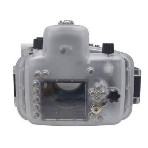 Mcoplus 40m/130ft Waterproof  Underwater Housing Diving Case for Nikon D7100