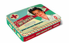 Blechdose Erste Hilfe First Aid Kit 50er Shabby Retro, Fa. Natives