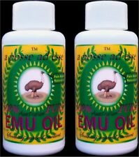 100% Pure Australian Emu Oil *Dual-Pack* Unsurpassable in Freshness & Quality