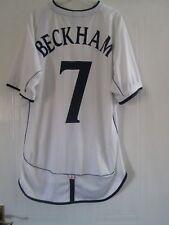 Beckham 7 England 2001-2003 Home Football Shirt Adults Extra Large XL / 43959