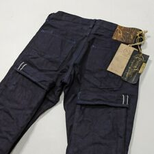 New PRPS NOIR Selvedge Japanese Denim Mens Jeans Tapered Rare W32 L34 RRP £495