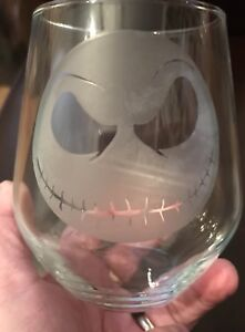 Personalised Stemless Wine Glass - Jack Skellington *** SEE ITEM DESCRIPTION ***