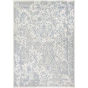 Couristan Marina Lillian Oyster & Slate Blue Rug