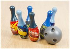 Disney Pixar Cars 3 Mini Childrens Six Pin Bowling Skittles & Ball Set Official