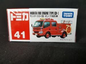 TAKARA TOMY 41 MORITA FIRE ENGINE TYPE CD-I CAMION POMPIER VIETNAM BOITE SCELLEE