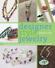BK144 DESIGNER STYLE JEWELRY By Sherri Habb New Soft Cover Wraped Book Wrap