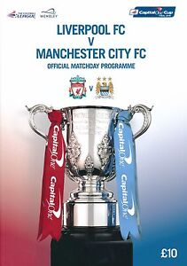 CAPITAL ONE LEAGUE CUP FINAL 2016 Liverpool v Manchester City official programme