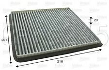 Chevrolet Spark Matiz Beat Activated Carbon Cabin Air Filter VALEO 2010-