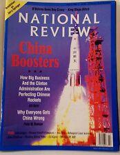 National Review June 1 1998 Politics Clinton Scandal China Chinese Rockets GOP
