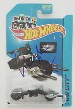 Christian Bale Signed Hot Wheels Bat Pod Car Dark Knight Toy Bruce Wayne Batman