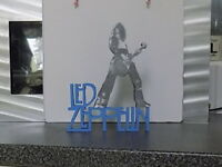 JIMMY PAGE, LED ZEPPELIN, HAND MADE WOODEN ORNAMENTAL FIGURE(OTHERS AVAILABLE)