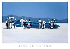 """JACK Vettriano """"Bluebird at Bonneville"""" stampa di qualità"""