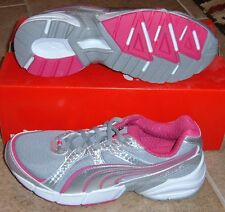 NEW PUMA CELL IKONIS Running Silver Womens 8 (6.5Y) NIB LTD NR