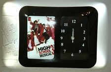 HIGH SCHOOL MUSICAL 3 GLASS BODY DESKTOP WALL CLOCK WITH PHOTO FRAME