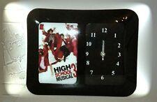 HIGH SCHOOL MUSICAL 3 GLASS BODY DESKTOP WALL CLOCK WITH PHOTO FRAME