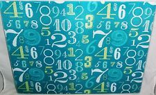 "Glass Cutting Board  NUMBERS 15 1/2"" x 11 1/2"""